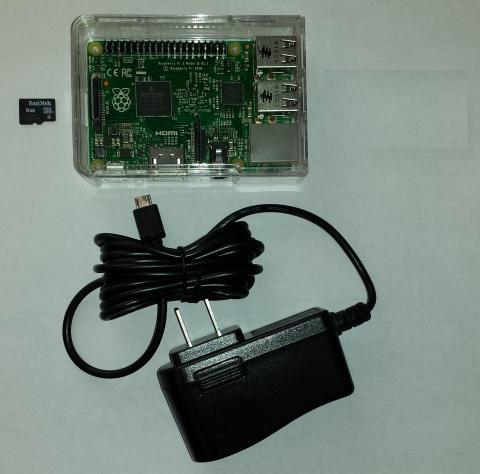 Parts for JMRI RaspberryPi
